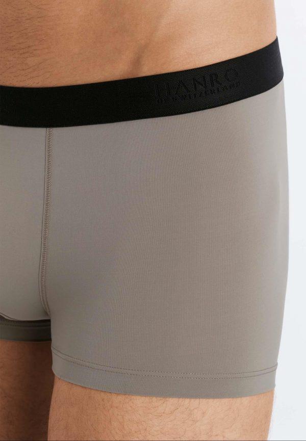 Boxer elástico costura plana Hanro Micro Touch
