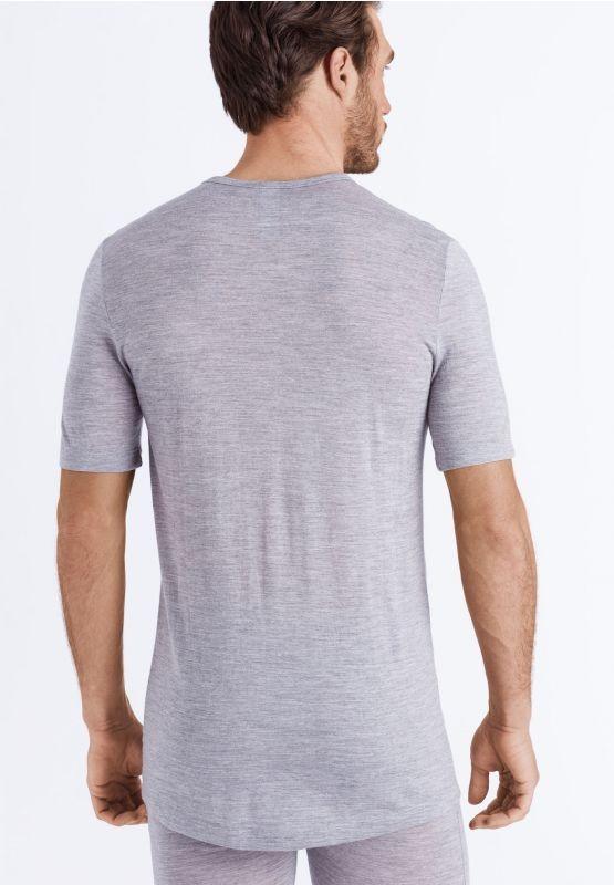 Camiseta manga corta de lana y seda Hanro Light merino